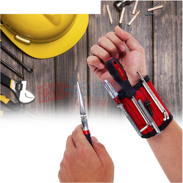 magnetic wristband for tools - off4sale
