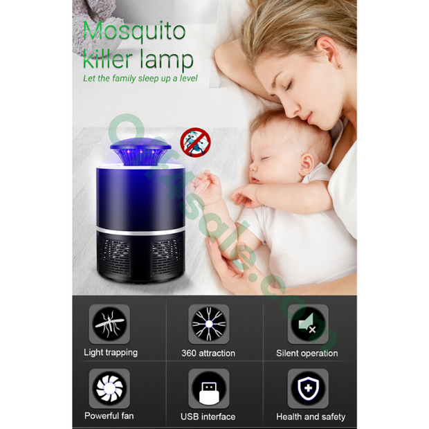 Mosquito Killer Lamp USB - off4sale