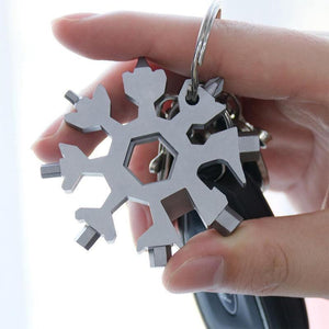 Narzorz® 18-in-1 stainless steel snowflakes multi-tool