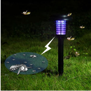Solar Anti-Mosquito Fly Bug Zapper Insect Pest Lamp MOSQUITO Narzorz