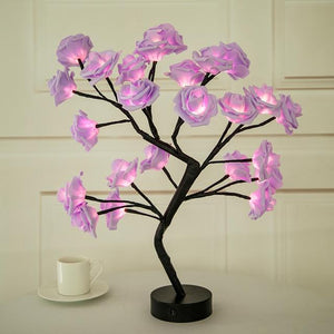 Rose Flower Tree Narzorz Pink