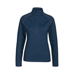 Laden Sie das Bild in den Galerie-Viewer, Damen Snow Midlayer Pullover Half Zip