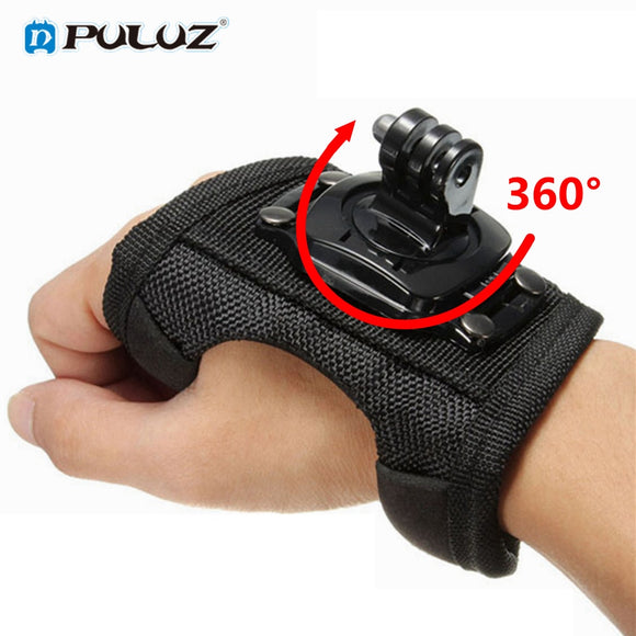 360 Degrees Wrist Band Arm Strap Belt Tripod Mount for GoPro