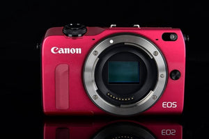 Canon Compact Digital EOS M2 camera Without lens and flash 18MP WIFI 8GB Memory Card Fully Tested