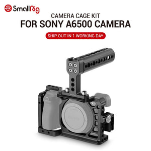SmallRig Dslr Camera Rig Cage Accessory Kit for Sony A6500