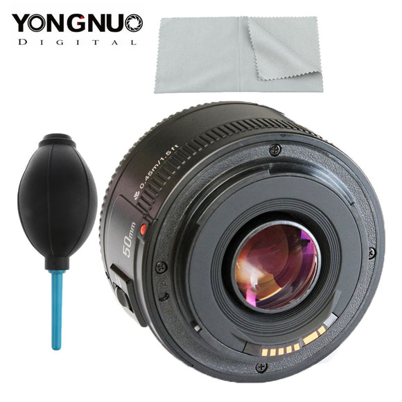 Original YONGNUO YN EF 50mm f/1.8 AF Lens for Canon EOS