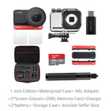 Insta360 ONE R 1 inch Edition Leica Lens 5.3K sports Action Camera