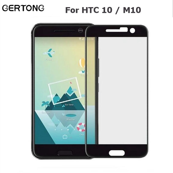 GerTong Full Cover Tempered Glass For HTC One 10 M10 / 10 Lifestyle