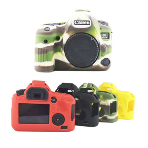 Soft silicone Camera Case Cover Rubber Case Protective Skin For Canon 6D2 6DII 6D Mark II