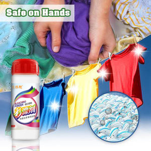 Color Bleach Stain Remover Powder--maintain bright colors