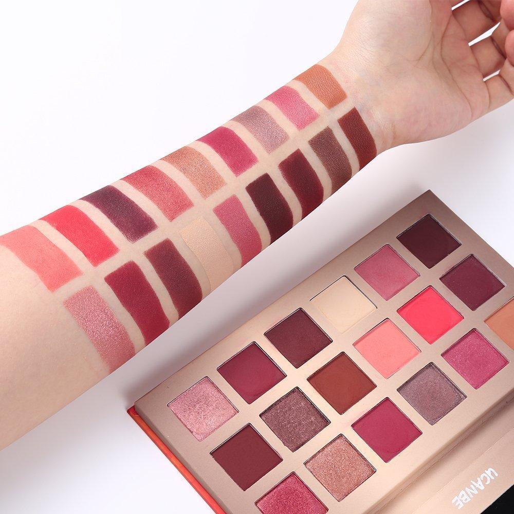 18 Color Shimmer Matte Eyeshadow Waterproof Dreamland Palette