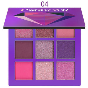 9-color eye shadow palette