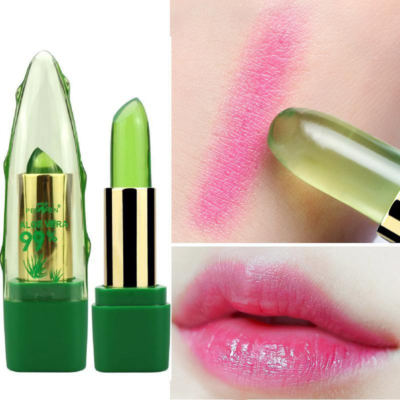 Temperature changes color lipstick