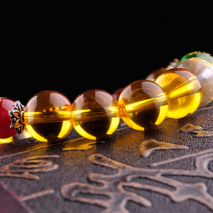 Citrine The God of Wealth Bracelet