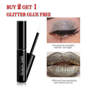 PU Waterproof Lasting Multipurpose Shimmer Glitter Lip powder