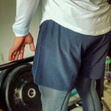 Navy Essential Active Shorts