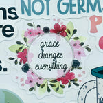 Grace Changes Everything Sticker
