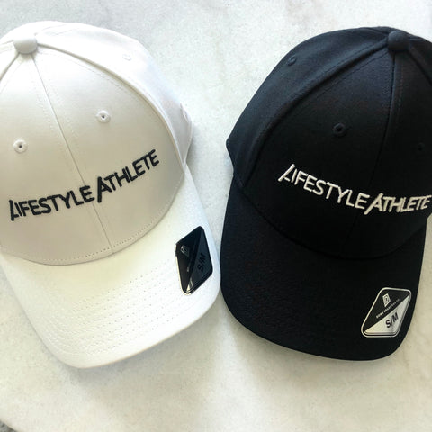 Lifestyle Athlete Fitted Black Hat