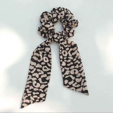 Leopard Knot Performance Scrunchie