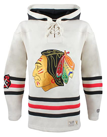Chicago Blackhawks Lace Jersey Hoodie