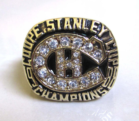 Montreal Canadiens Stanley Cup Championship Replica Ring
