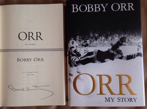 Bobby Orr Signed 'My Story' Book
