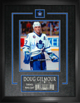 Doug Gilmour Signed Toronto Maple Leafs 8x10 Etched Mat Frame