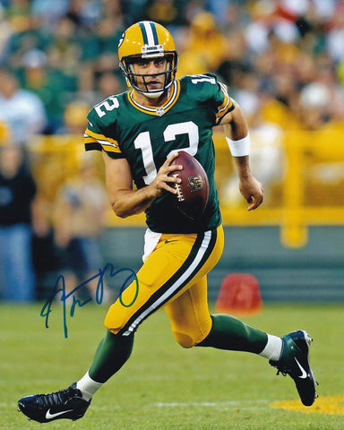 Aaron Rodgers Signed Green Bay Packers 8x10 Photo