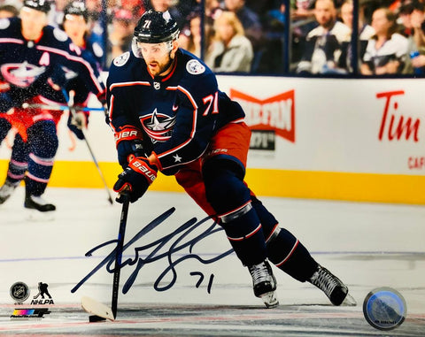 Nick Foligno Signed Columbus Blue Jackets 8x10 Photo