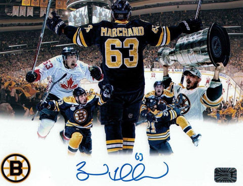 Brad Marchand Signed Boston Bruins 8x10 Photo