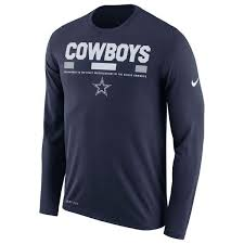 Men's Dallas Cowboys  Long Sleeve T Shirt