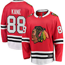 Men's Chicago Blackhawks Kane Fanatics Jersey