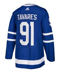 Men's Toronto Maple Leafs John Tavares Adidas Blue Home Authentic Player Jersey