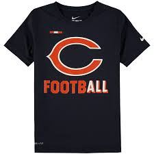 Men's Chicago Bears Nike Dry Fit T Shirt