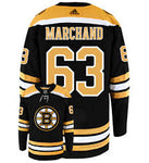 Men's Boston Bruins Brad Marchand Adidas Authentic Jersey
