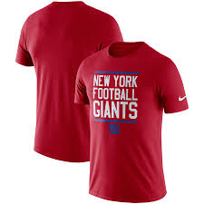 Men's Nike Red New York Giants  T-Shirt
