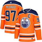 Men's Edmonton Oilers Connor McDavid Adidas Authentic Player Jersey