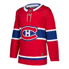 Men's Montreal Canadiens Adidas Authentic Pro Jersey