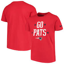 New England Patriots Nike Red T Shirt