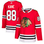 Men's Chicago Blackhawks Patrick Kane adidas Red Authentic Player Jersey