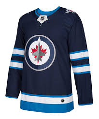 Men's Winnipeg Jets Adidas Navy Authentic Pro Jersey