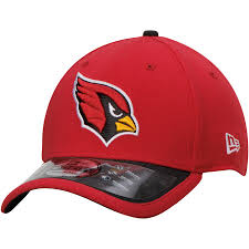 Arizona Cardinals Adult 39Thirty On Field Flex Fit Hats