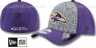 Baltimore Ravens  2014 Reflective 39THIRTY Flex Fit Hats