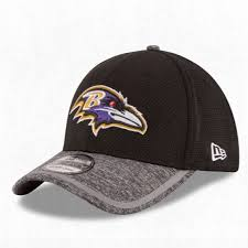 Baltimore Ravens NFL 2016 Training 39THIRTY Flex Fit Hats