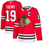 Men's Chicago Blackhawks Jonathan Toews Adidas Red Authentic Player - Jersey