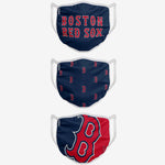 Boston Red Sox Face Covering 3-Pack Mask