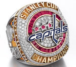 Washington Capitals 2018 Stanley Cup Championship Replica Ring