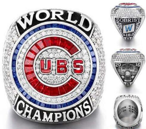 Chicago Cubs 2016 World Series Championship Replica Ring
