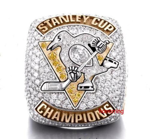 Pittsburgh Penguins 2017 Stanley Cup Championship Replica Ring