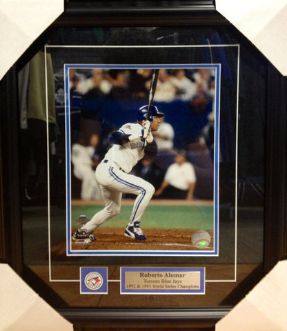 Roberto Alomar 1993 World Series Framed 8x10 Photo